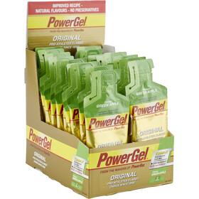 PowerBar PowerGel Original - Nutrición deportiva - Manzana Verde con Cafeína 24 ud. X 41g
